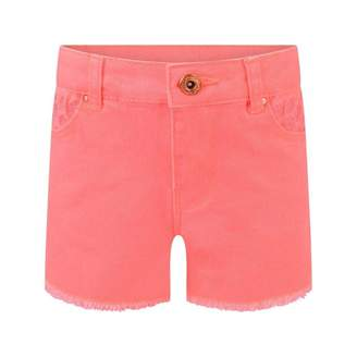 Billieblush BillieblushGirls Neon Pink Denim Shorts