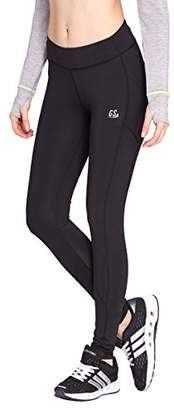 Goodsport Women's Moisture-Wicking Fitted Tights