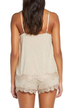 PJ Salvage Lace Trim Camisole