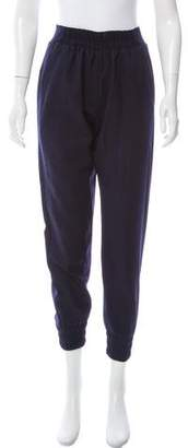 Mother of Pearl Wool Mid-Rise Pants