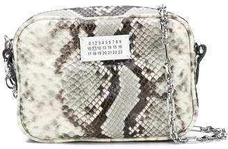 Maison Margiela snakeskin effect clutch bag