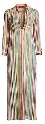 Missoni Mare Women's Rainbow Stripe Coverup Caftan