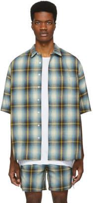 Adaptation Blue and Yellow Plaid Shirt