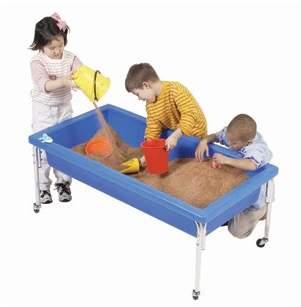 Factory Children's Sensory Rectangle Sandbox Table