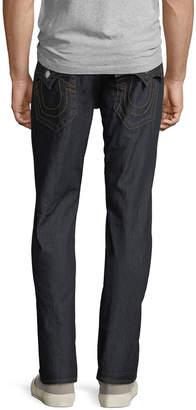 True Religion Dark Straight-Leg Jeans