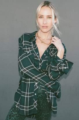Rag Doll Ragdoll FLANNEL Shirt Dark Green