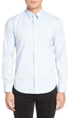 Theory 'Sylvain' Trim Fit Long Sleeve Sport Shirt