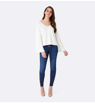 Ever New Sophia Flare Sleeve V Neck Top