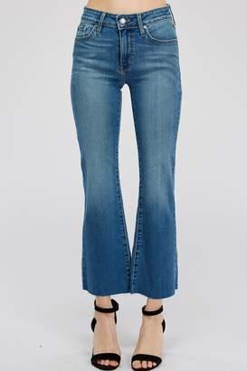 Just Black Cropped Fare Jean