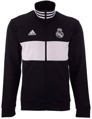 adidas Men's Real Madrid Club Team 3 Stripe Track Jacket