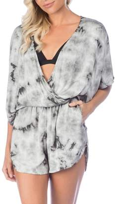 Green Dragon Crystal Forest Eliza Cover-Up Romper
