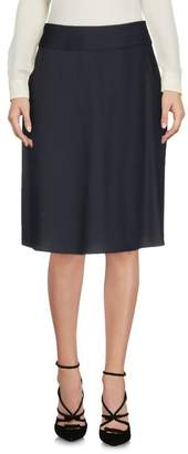 Jil Sander Navy Knee length skirt