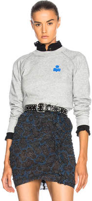 Etoile Isabel Marant Makati Marant Crewneck Sweatshirt