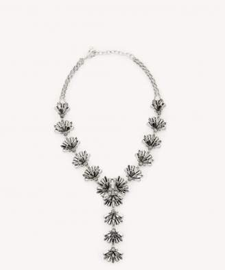 Sole Society Confetti Cluster Statement Necklace