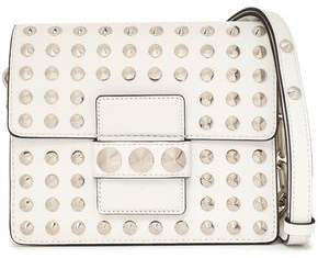 Michael Kors Studded Leather Shoulder Bag