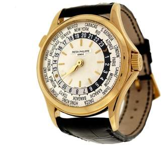 Patek Philippe World Time 5110J Self Wind 18K Yellow Gold 240/188 36mm Mens Wrist Watch