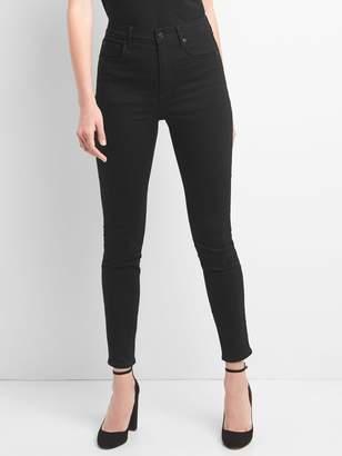 Gap High Rise True Skinny Jeans in EverBlack