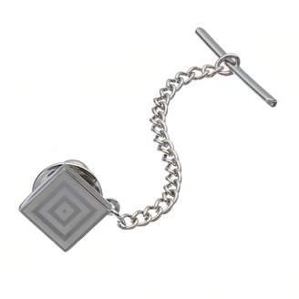 Apt. 9 Polished Rhodium Silver-Tone Tie Tack - Men