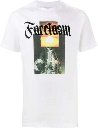 Facetasm slogan front T-shirt