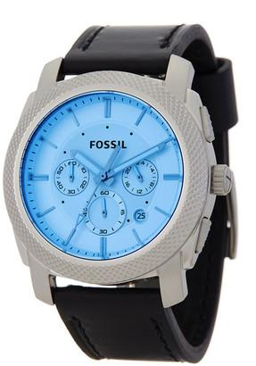 Fossil Men's Machine Chronograph Quartz Watch $145 thestylecure.com