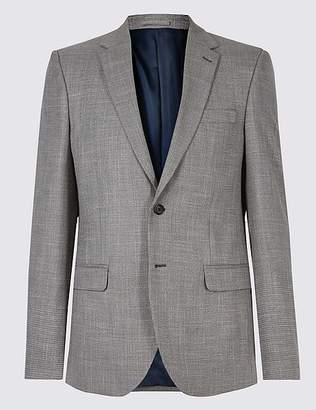 Marks and Spencer Textured Slim Fit Jacket