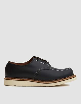 Red Wing Shoes 8106 Classic Oxford in Black Chrome