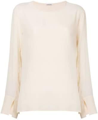 Barena round neck blouse