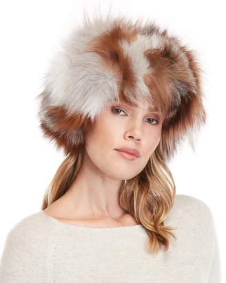Adrienne Landau Real Fur Hat
