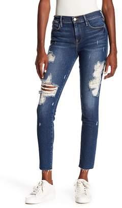 Frame Le High Skinny Raw Hem Jeans