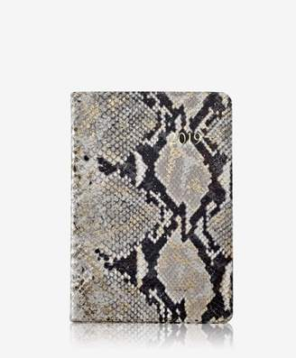 GiGi New York 2019 Daily Journal Gold Wash Embossed Leather