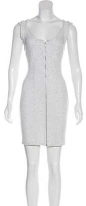 Alexander Wang Zip-Up Mini Dress