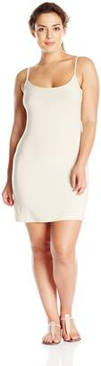Blu Pepper Women's Plus-Size Cami Slip Dress