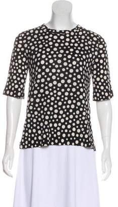 Louis Vuitton Polka-Dot Short Sleeve Top