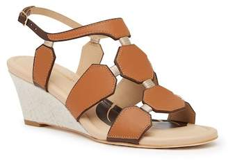 Tommy Bahama Sunset Beach Leather Wedge Sandal