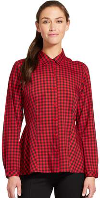 Izod Women's Print Relaxed Fit Shirt