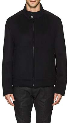 Barneys New York MEN'S DOUBLE-FACED WOOL-BLEND JACKET