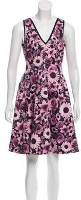 Erin Fetherston ERIN by Floral Neoprene Sleeveless Dress w/ Tags