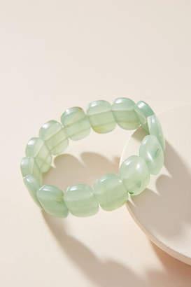 Anthropologie Gemstone Stretch Bracelet
