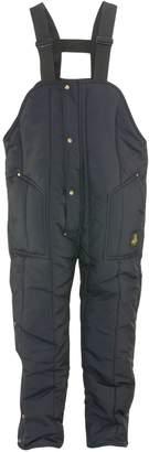 Refrigiwear Men's Iron-Tuff Insulated High Bib Overalls ( Blue, 2XL)