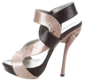 Georgina Goodman Cutout Platform Sandals