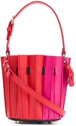 Sara Battaglia mini fitted bucket bag