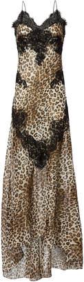 Redemption Leopard Print Cami Gown