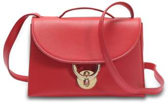 Stella Crossbody Bag in Red Dolce T Leather Salvatore Ferragamo TBzRf
