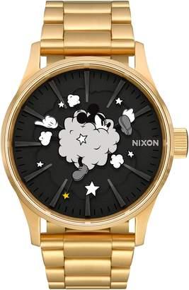 Nixon x Disney Sentry Fight Cloud Bracelet Watch, 42mm