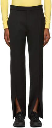 Namacheko Black Front Split Trousers