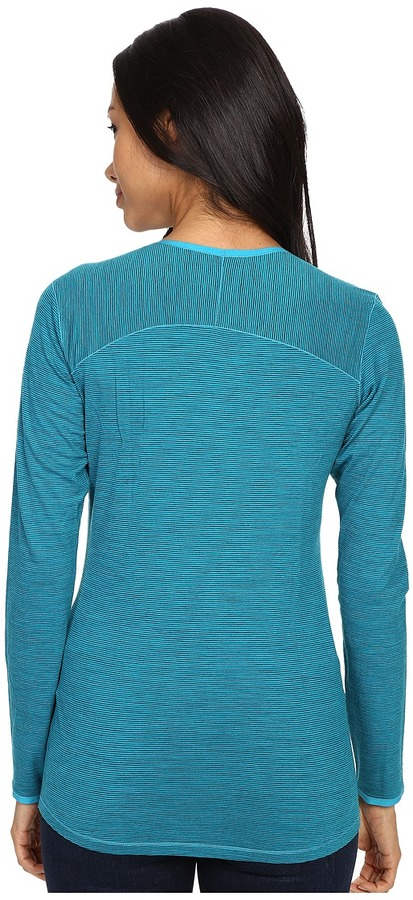Smartwool NTS Micro 150 Pattern Crew Women's Long Sleeve Pullover