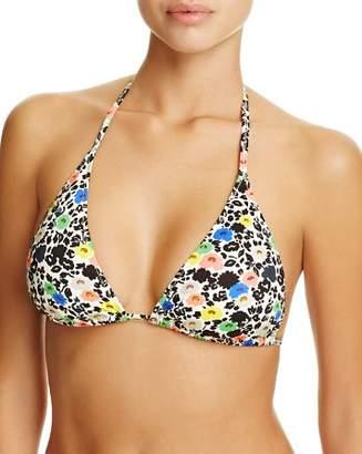 Paul Smith Floral Classic Triangle Bikini Top