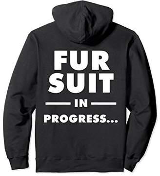 Fur Suit In Progress - Furry Hoodie