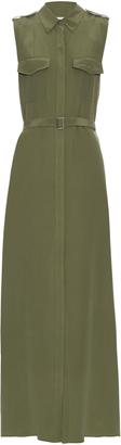 EQUIPMENT Major sleeveless silk maxi dress $428 thestylecure.com