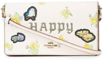 Coach X Disney Happy foldover clutch